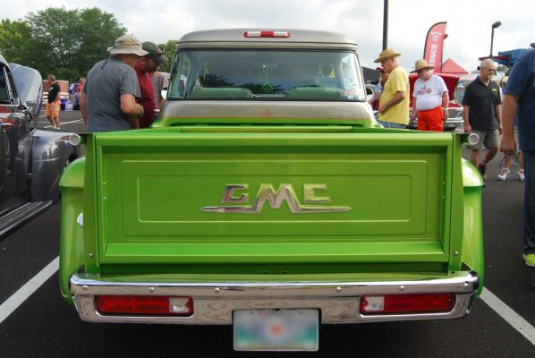 55 GMC Truck Tailgate