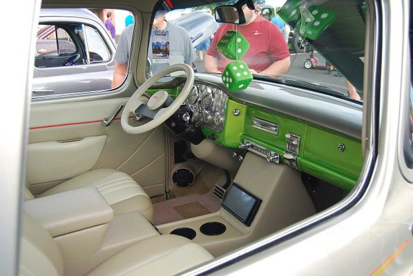 55 GMC Truck Custom Interior