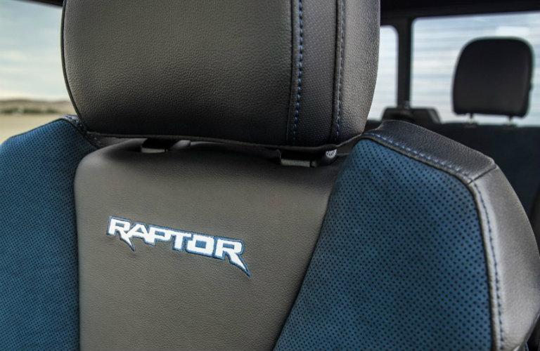 2019 Ford F-150 Raptor Recaro seats