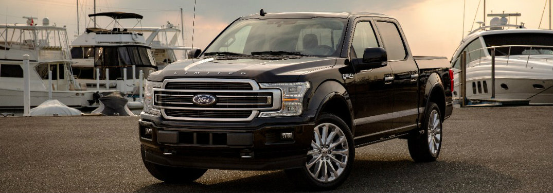 2018 Ford F-150 Limited, side view