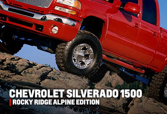 Chevrolet Silverado Rocky Ridge Alpine