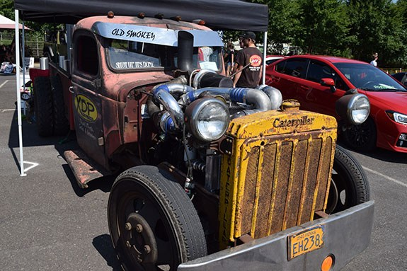 Rat Rod Dodge pickup truck