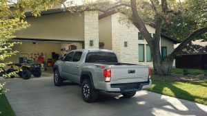 2019 Toyota Tacoma TRD parked in driveway