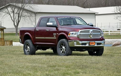 new lifted truck